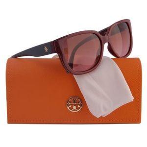 Tory Burch Burgundy Sunglasses